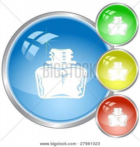 vector icons of inkstand. All layers are grouped.