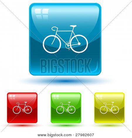 Vektor-Symbol des Fahrrades