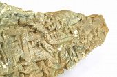 foto of sumerian  - Ancient Sumerian writing carved in the stone isolated - JPG