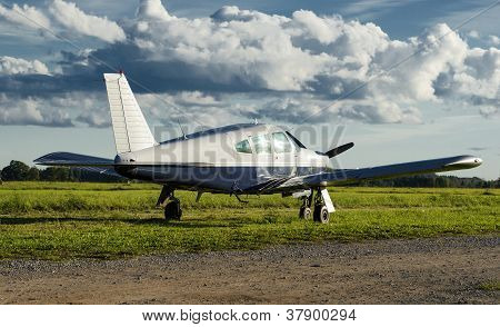 Small Private Airplane