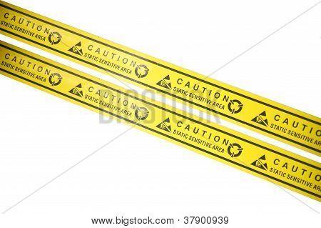 Caution bar