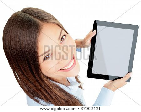 Tablet Woman