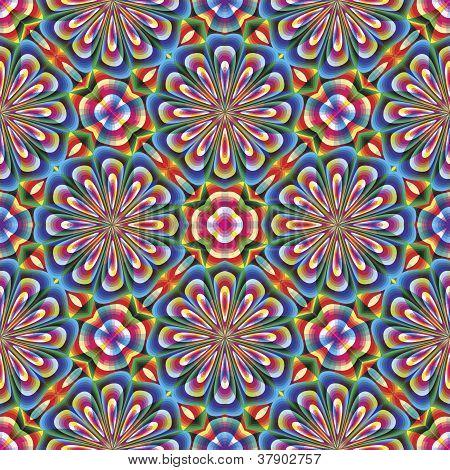Mosaico arabesco sem costura