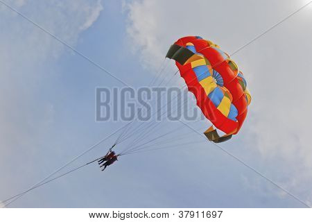Fiesty Para gliding Ladies