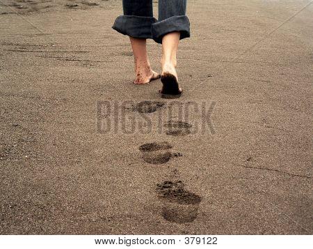 Impresiones de pie
