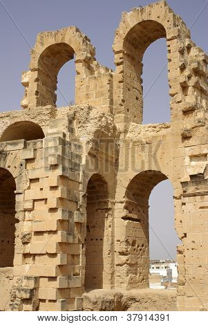 Coliseum In El-jem, Tunisia