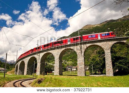 World Famous Swiss Train