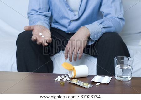 Drug Addict Businessman