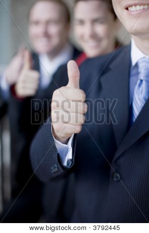 Business Thumbs-Up