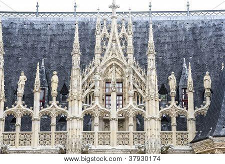 Rouen historische Palast