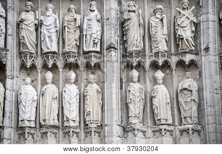 Rouen - Cathedral Exterior, Detail