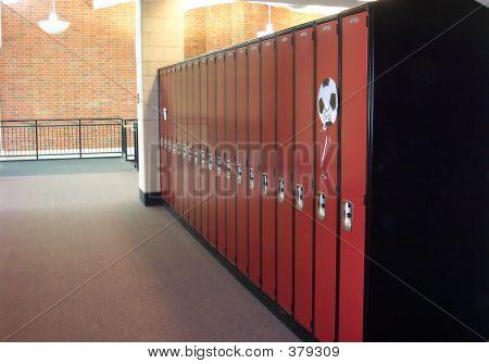 Locker Hallway