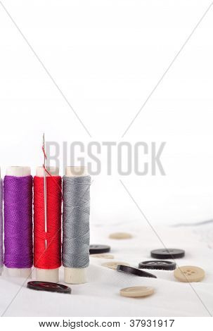 Bobbins Of Thread
