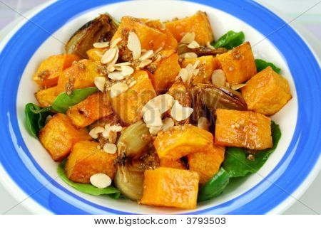 Pumpkin And Onion Salad