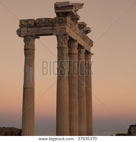 Side Temple Of Apollo