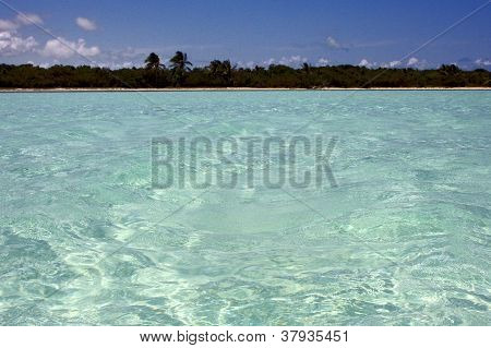 Light Blue In Sian Kaan