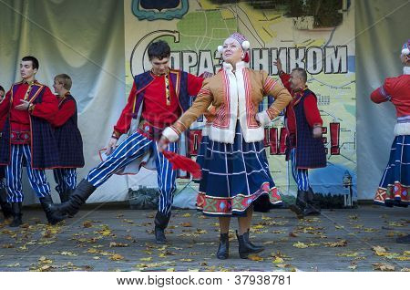 Russian Folk Ansamble Of Dance Rainbow