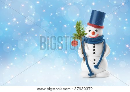 Snowmen, Christmas Card
