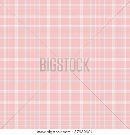 Dainty Baby Pink Plaid