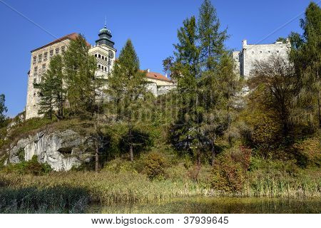 Medieval Castles Built On Inaccessible Rocks In Poland