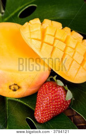 Mango And Strawberry