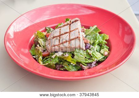 Yellow Fin Tuna Salad