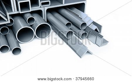 Metal Pipes, Angles, Channels, Squares