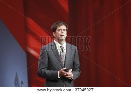 San Francisco, Ca, Oct 3, 2012 - Oracle  Executive Vice President John Fowler Makes Speech At Openwo