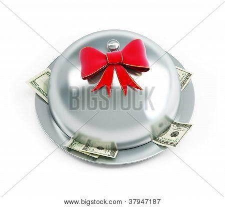 Tray Dollars Gift
