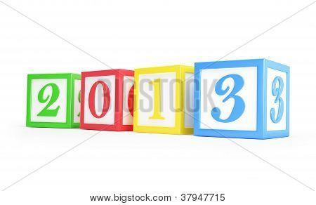 Alphabet Box 2013 New Year's
