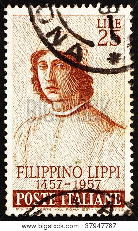 Postage stamp Italy 1957 Filippino Lippi,Painter