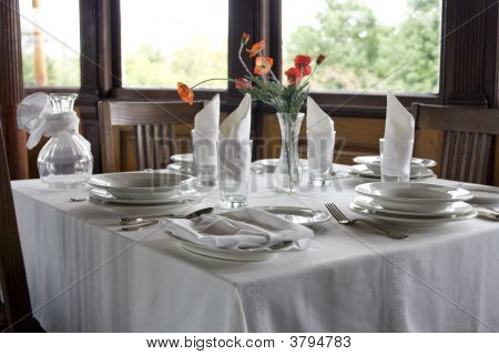 Classic Table Setting