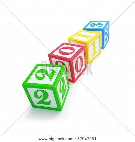 Alfabeto caja 2013 año nuevo