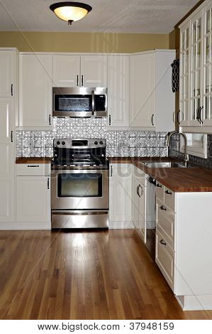 Small Remodeled Kitchen