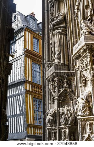 Rouen - Saint-maclou Square