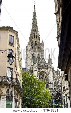 Rouen - Belfry Of Saint-maclou Church