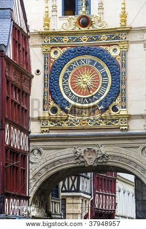 Rouen - Historic Clock