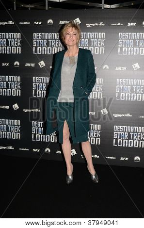 Nana Visitor At Destination Star Trek In  London Docklands 19Th October 2012
