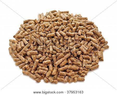 Pellets for cat litter