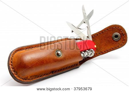 Penknife And Leather
