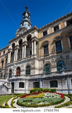 City Hall, Bilbao, Bizkaia, Basque Country, Spain