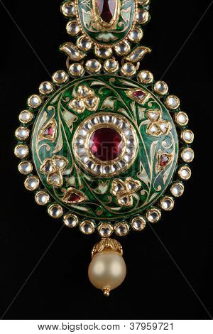 Close up of pendant