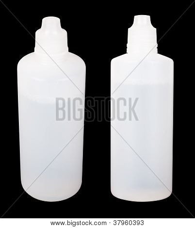 Two White Containers