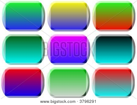 Blank Buttons Graphic Designs