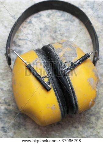 Ear Protection Factory Noise Muffs Yellow