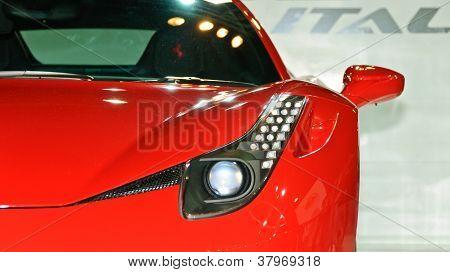 A Ferrari 458 Itatia