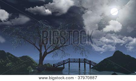 The Tree And Bridge.