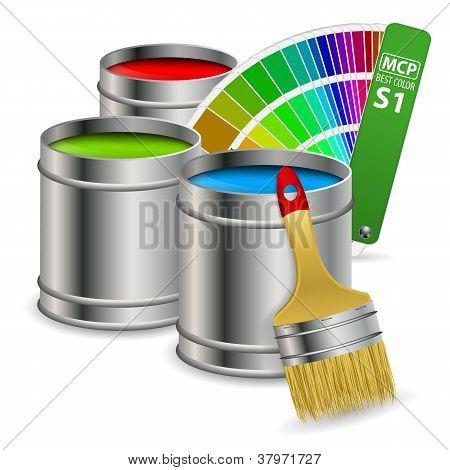 Concepto de pintura