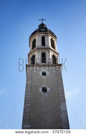 Bellcour square - Clocher de la charite in Lyon