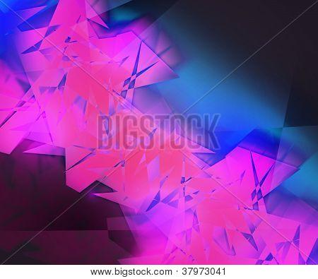 Violet Strange AbstractBackground